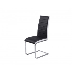 MATIS trpezarijska stolica TIP-TOP - Crno-Bela