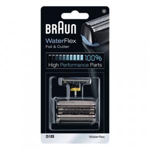 BRAUN 51B rezervna mrežica za aparat za brijanje+nožić za brijač 51B