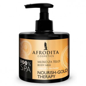 AFRODITA mleko za telo SPA NOURISH-GOLD THERAPY 250ml