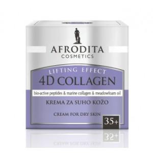 AFRODITA krema za suvu kožu 4D COLLAGEN LIFTING 50 ml