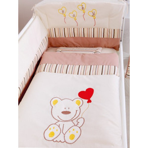 Bebi posteljina Meda 950 braon