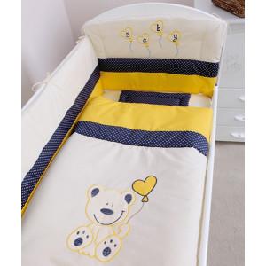 Bebi posteljina Meda 950 teget