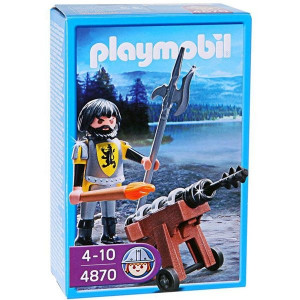 PLAYMOBIL vitezovi: Lion vitez i top 10136