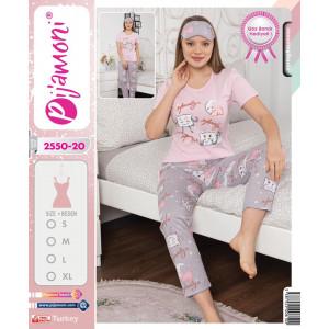 Pidžama ženska 2550-20 XL***K