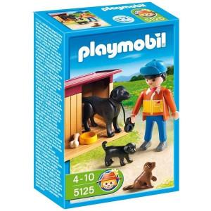 PLAYMOBIL farma: dečak sa kucama 10157