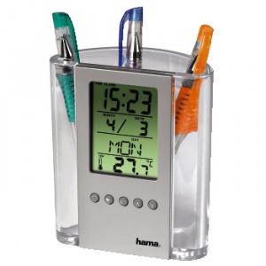 HAMA LCD termometar i držač za olovke 75299