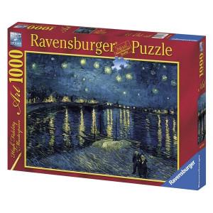 "RAVENSBURGER puzzle (slagalice) - Van Gog ""Zvezdana noć"" RA15614"