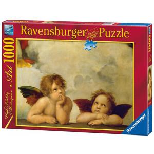 "RAVENSBURGER puzzle (slagalice) - Rafaelo ""Mali anđeli"" 1000 RA15544"