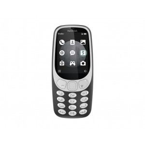 Nokia 3310 3g charcoal siva a00028759