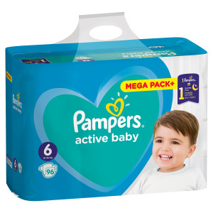 PAMPERS AB MB 6 LARGE (96) 4381