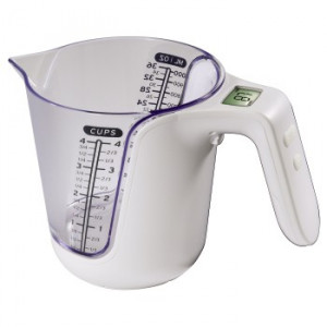 HAMA kuhinjska vaga sa posudom za merenje zapremine (104983)