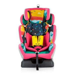 CHIPOLINO Auto sedište gupa 0+1 2 3 4 4 Max pink 710084