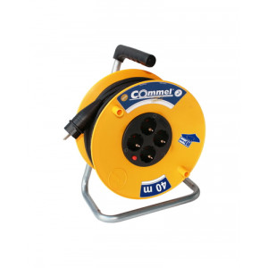 COMMEL kabl sa motalicom PVC bubanj 280mm monofazna 25m (C0959)