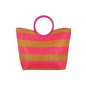 PULSE torba za plažu copacabana pink 121122