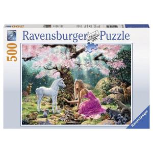 RAVENSBURGER puzzle (slagalice) - princeza sa jednorogom RA14642