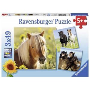 RAVENSBURGER puzzle (slagalice) - divlji konji RA08011