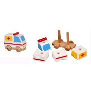 PINO Mini 3D puzzle - Hitna pomoć 7586-1