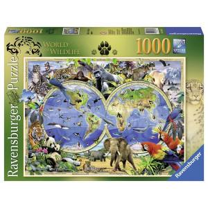 RAVENSBURGER puzzle - svet divljih životinja RA19385