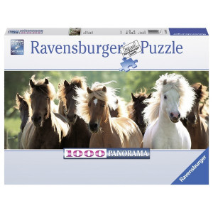 RAVENSBURGER puzzle (slagalice)- divlji konji panorama RA15091