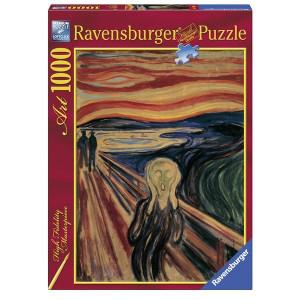 "RAVENSBURGER puzzle (slagalice) - Munk ""Vrisak"" RA15758"