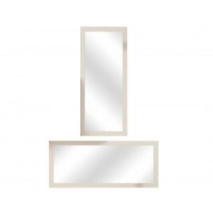 MATIS ogledalo predsoblje APOLON PA3 MDF - Hrast- Bež sjaj 100402