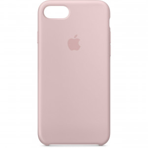APPLE iPhone 8/7 Silicone Case - Pink Sand MQGQ2ZM/A
