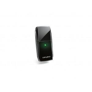 TP-LINK wi-fi usb adapter ac600 dual-band, 1xusb 2.0, wps dugme, 1xinterna antena archer t2u