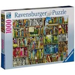 RAVENSBURGER puzzle - bizarre biblioteka RA19137