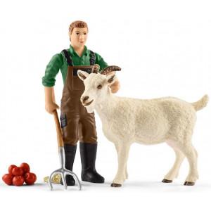 SCHLEICH Farmer sa kozom 42375