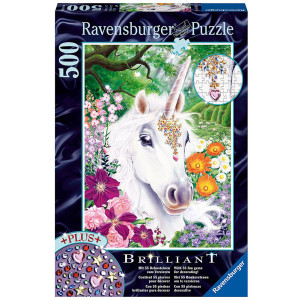 RAVENSBURGER puzzle (slagalice)- prelepi jednorog RA14850