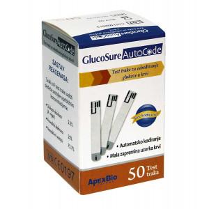 PRIZMA tračice glucosure autocode 1/50 3020100
