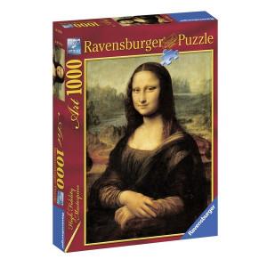 "RAVENSBURGER puzzle (slagalice)- Da Vinci ""Mona Liza"" 1000 RA15296"