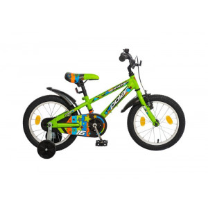 "BICIKL POLAR JUNIOR BOY 16"" green  B162S59181"