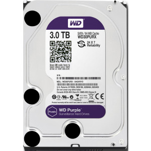 WESTERN DIGITAL  hard disc wd30purx-78 purple 3tb  3523