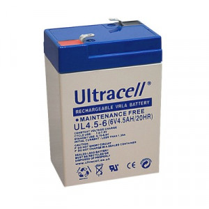 ULTRACELL akumulator 4,5Ah/6V 4402
