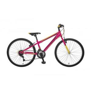 BICIKL BOOSTER TURBO 240 pink-yellow B240S02180