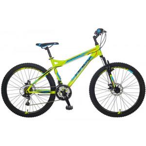 BICIKL POLAR EVEREST FS DISK fluo green B262S12182