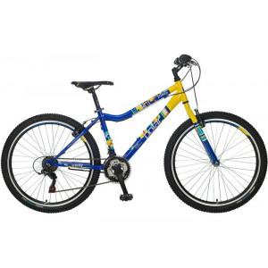 BICIKL POLAR TRINITY blue-yellow B262S20181