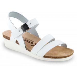 GRUBIN ženske sandale 1263650 LUCCA Bele
