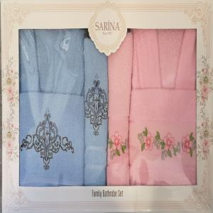 Bade matil set Sarina roze/plavo ***K
