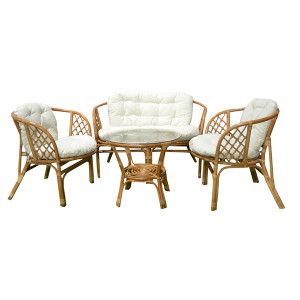 BAŠTENSKA GARNITURA BAHAMA RATTAN SET HONEY