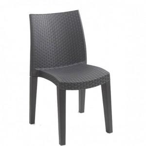 Baštenska stolica LADY - ANTRACITE 037971