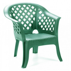 Baštenska zelena fotelja LARIO 038872