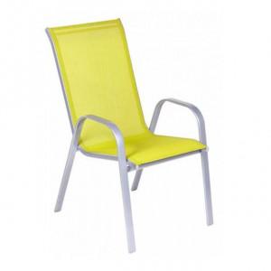 Baštenska stolica žuta Como 046996