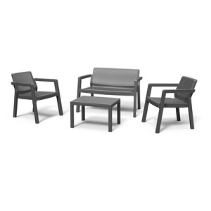 Baštenski set Emilly Patio, grafit CU 246589