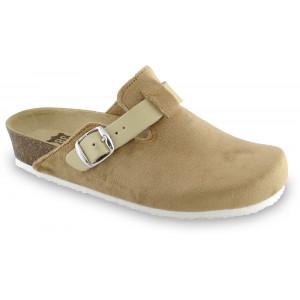 GRUBIN ženske papuče tople 53560 RIM Bež