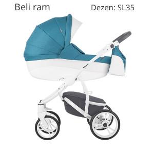 Bebetto TORINO S-line kolica za bebe, set 2u1 SL35