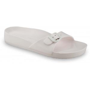 GRUBIN ženske papuče 3043700 MADRID LIGHT Bele