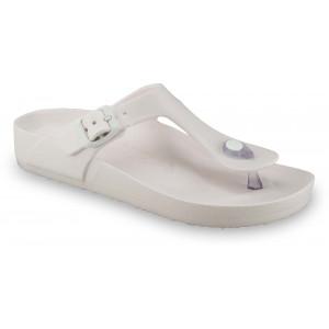 GRUBIN ženske papuče 3933700 TAKOMA LIGHT Bele