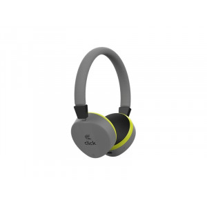 CLICK slušalice bluetooth, sa mikrofonom, sive bhl2g
